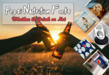 Pepsi Nutrition Facts