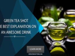 Green Tea Shot