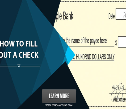 How To Fill Out A Check