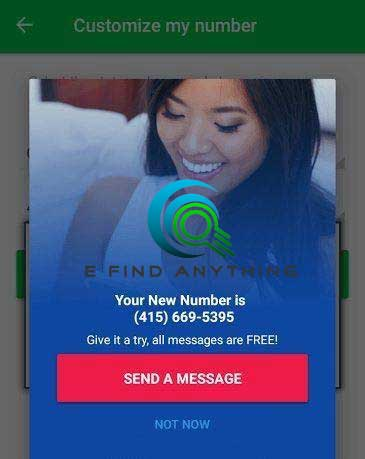 Get a free US phone number