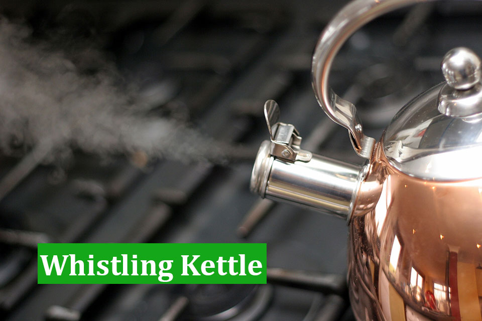 How to use a Whistling Kettle
