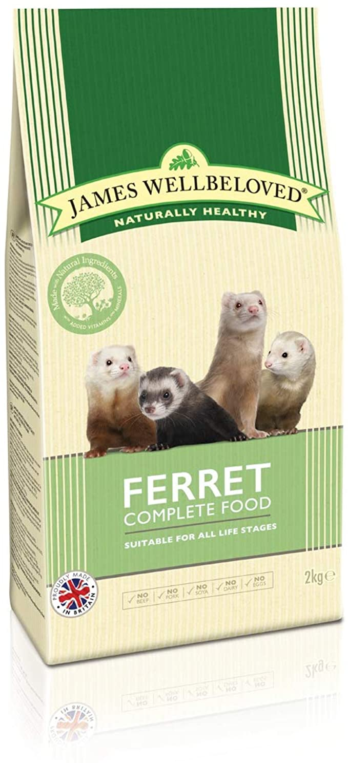 James Wellbeloved Ferret Complete Dry Food