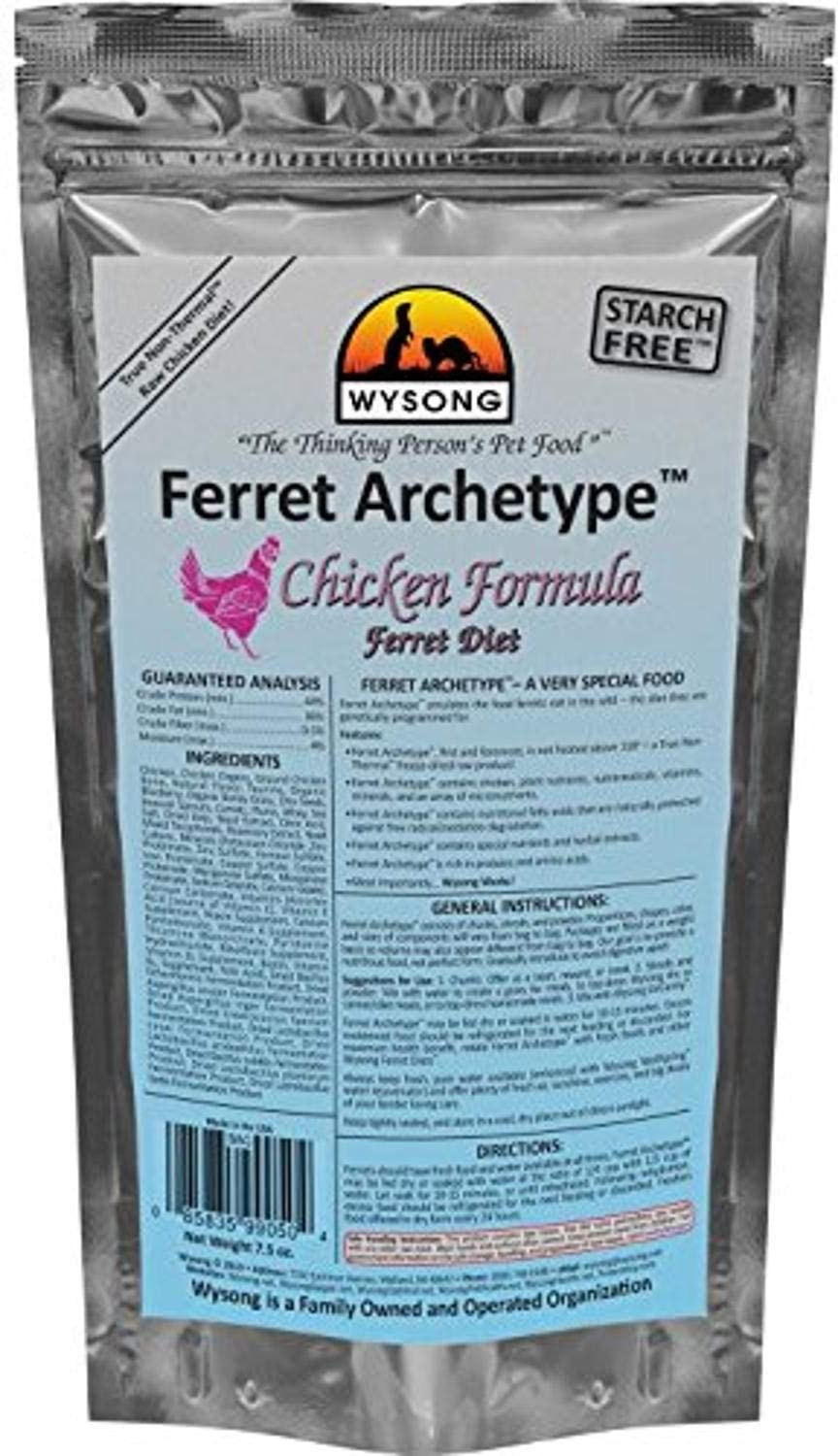 Wysong Archetype Ferret Food