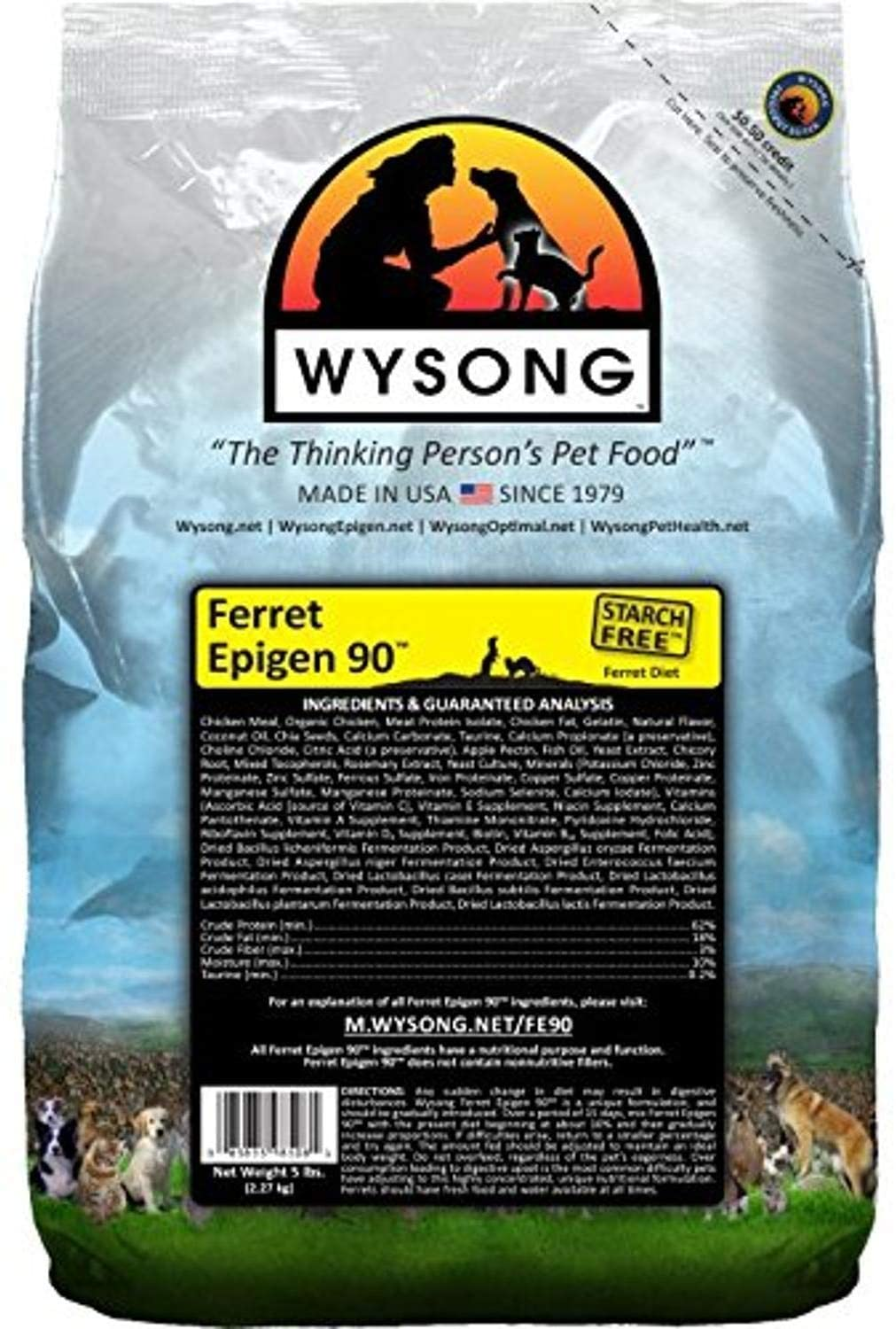 Wysong Epigen 90 Ferret Food