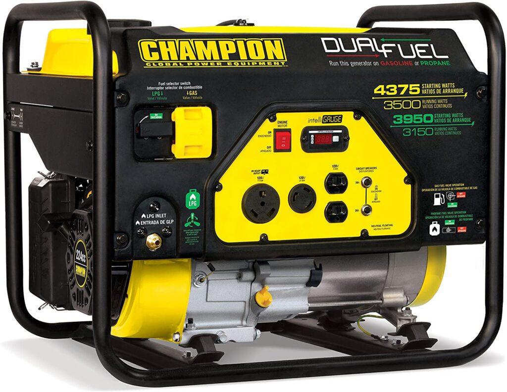 Champion 3500-Watt Dual Fuel Generator