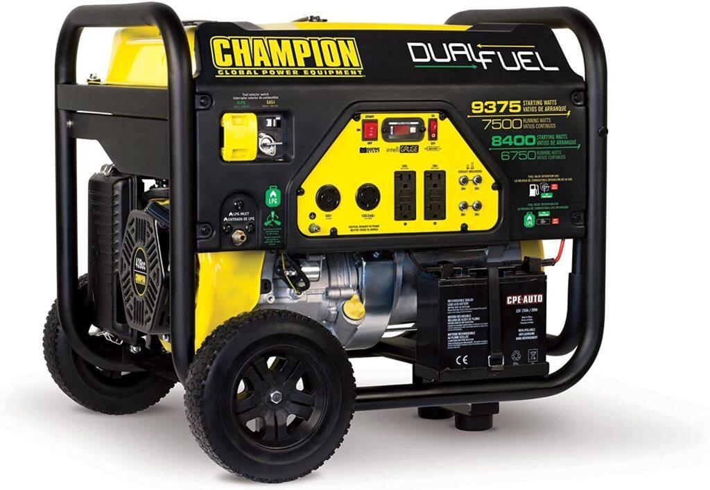 Champion 7500 Watt Dual Fuel Generator