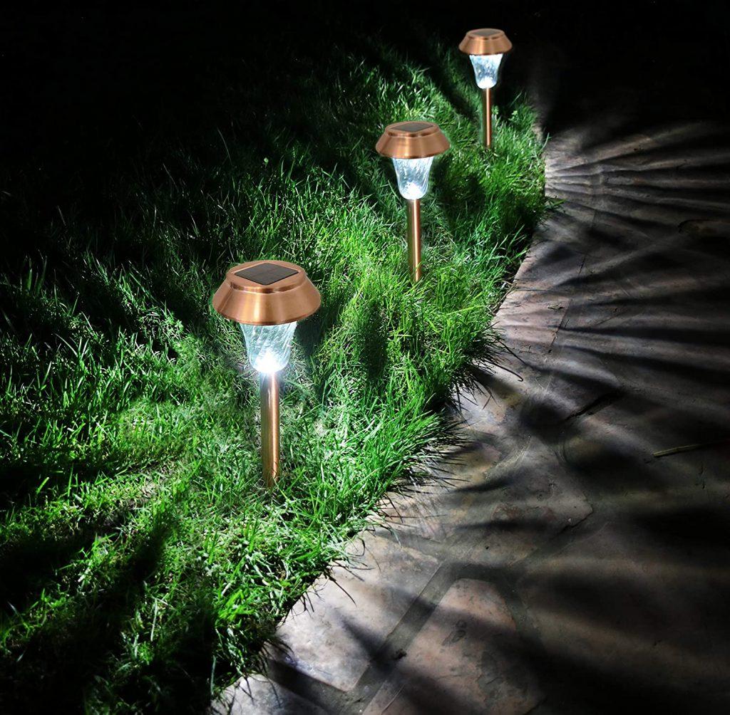 Enchanted Spaces ES1023 - Solar Bollard Lights