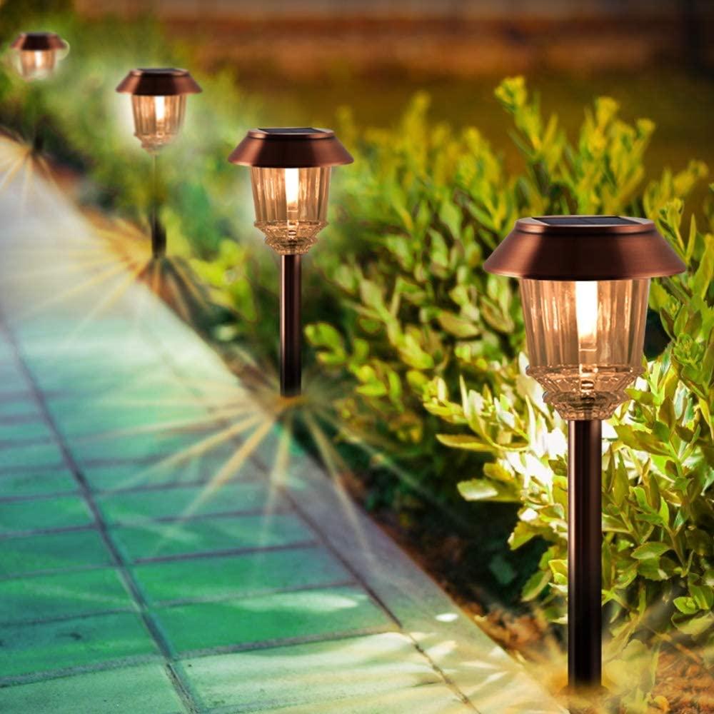 Xmcosy  XLLNN8S - Solar Bollard Lights