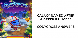 Galaxy Named After a Greek Princess