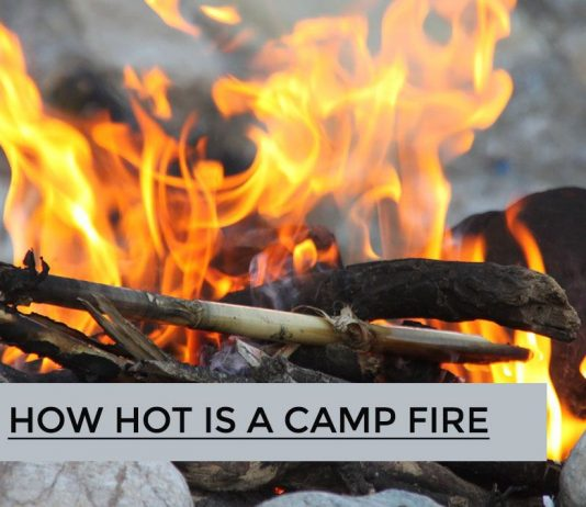 How Hot is a Camp Fire